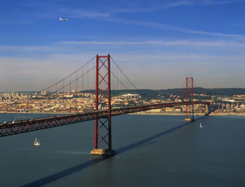 Brücke über den Tejo, Lissabon