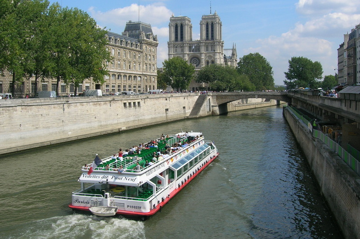 Boottour auf der Seine, Paris