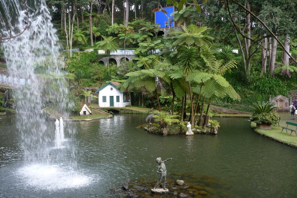 Madeira mit Plietsch & Gut, Gruppenreise 50plus, Tropischer Garten Korbschlittenfahrt