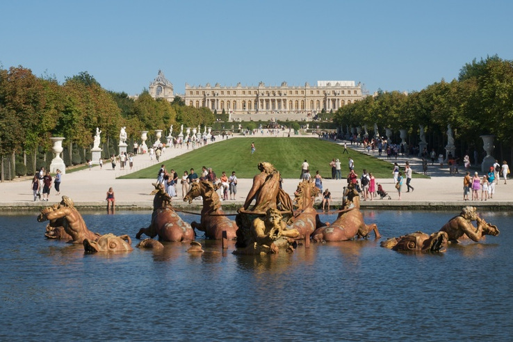 Versailles Park und Schloss, Gruppenreise Paris und Umgebung von Plietsch und Gut