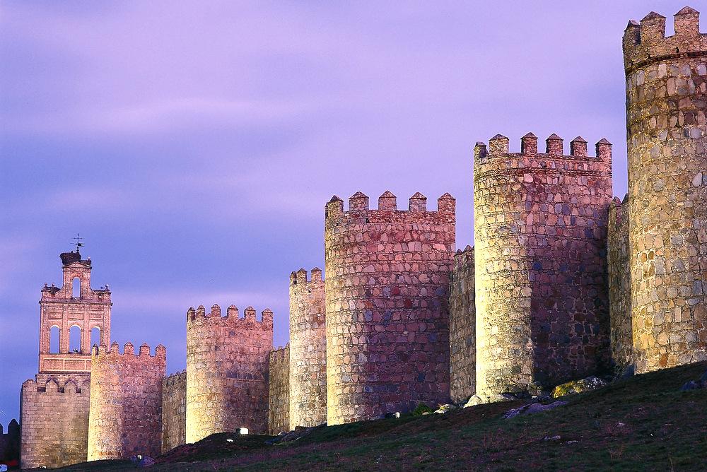 Avila Stadtmauer Besichtigung